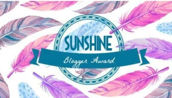 SUNSHINE BLOGGER AWARD [2]
